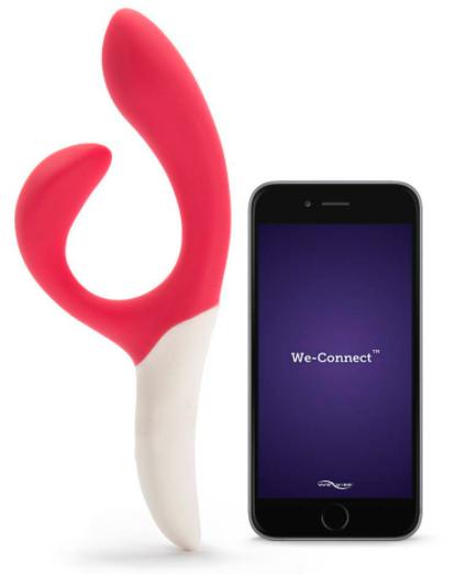 We-Vibe Nova Rechargeable App Controlled G-Spot Rabbit Vibrator